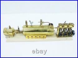 SAITO Marine boiler B3 Steam engine T3DR set