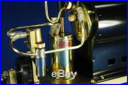SAITO Steam Engine & Boiler OE-1 & OB-1 Set With Display Stand New from Japan