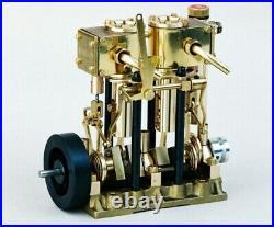SAITO Steam engine 5.4cc for model ship marine boat T2DR