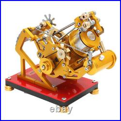 Single Cylinder V1-45 Stirling Engine Steam Power Model Mechanism Novel Toy