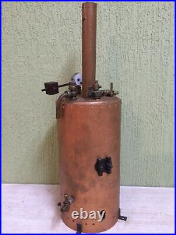 Steam Engine Accessory Boiler