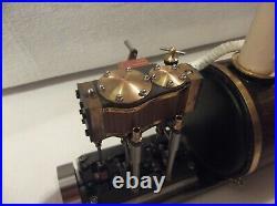 Steam Engine And Boiler For Model Boat