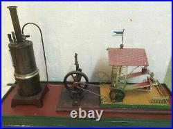 Steam Engine Set up Zschopau