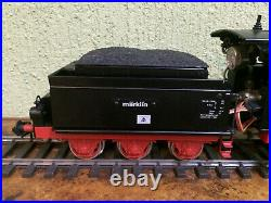 Steam Engine Tender Locomotive Maerklin Gauge 1 55001