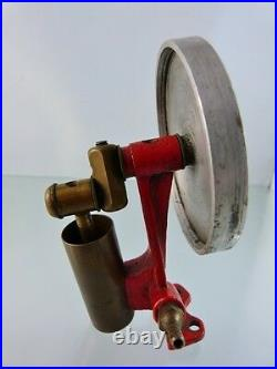 Steam Engine Toy Fly Wheel And Steam Piston Assembly