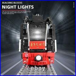 Technic Series STEAM LOCOMOTIVE TRAIN Set Creator Building Blocks Toy Compatible
