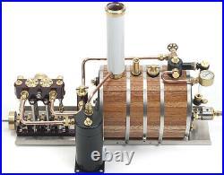 The Sparrow Horizontal Steam Plant Monahan Live Steam Model Marine Engine