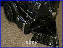 Toy Train Steam Model Aluminum Body Wind-up 2 Rail O Scale Track Hafner