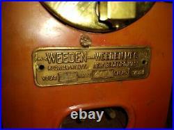 VINTAGE 702 WEEDEN ELECTRIC TOY STEAM ENGINE WITH accessories