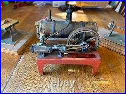 VINTAGE WEEDEN STEAM ENGINE WithTANK AND ACCESSORY EQUIPMENT