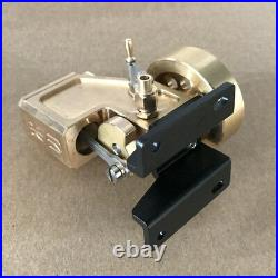 Vacillating Cylinder Steam Engine Motor Toy DIY Steam Heat Power Generator Model