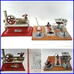 Vintage 1920s Empire Metal Ware B30 Steam Engine & Wilesco Woodworking Tools