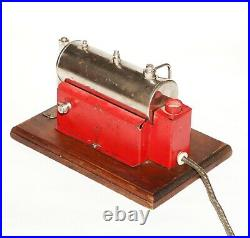 Vintage 1940's Toy Weeden No. 43 Electric Steam Engine Mfg. National Playthings