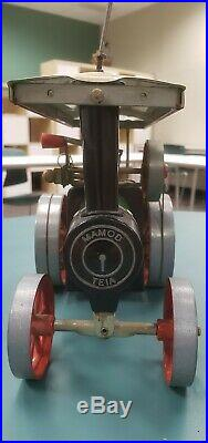 Vintage 1960's Mamod Traction Engine Steam Engine Tractor TE1A