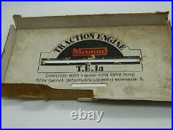 Vintage 1960's Mamod Traction Engine Steam Engine Tractor TE1A withbox
