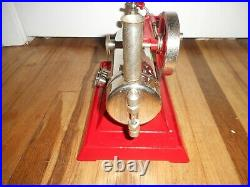 Vintage EMPIRE Metal Ware B30 115 V Live Steam Engine Toy BEAUTIFUL