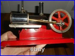 Vintage EMPIRE Metal Ware No 46 120 V Live Steam Engine Toy