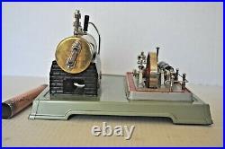 Vintage Fleischmann 125/2 Vertical Steam Engine Made In West German Ob