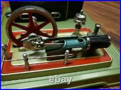 Vintage Fleischmann Tin Steam Engine Accessory Assorted Lot