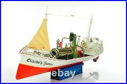 Vintage German Tucher & Walther Steam Boat Elisabeth Joanna, Wilesco