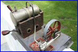 Vintage German Wilesco Steam Engine untested Estate find old