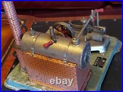 Vintage Jensen 25 live steam engine, tested, working, no leaks, whistle, reverse
