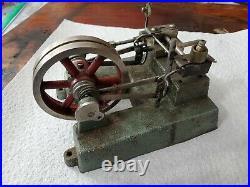 Vintage Jensen #55 steam engine cast iron base