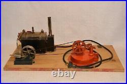 Vintage Jensen MFG 115 Volt 450 Watt Model 5 Electric Steam Engine+ Tested