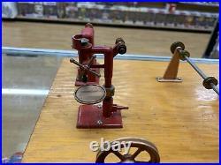 Vintage Jensen Working Steam Engine Machine Shop Model 100