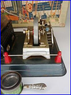 Vintage Linemar Horizontal Steam Engine J-9288 with Five Accessories Made In Japan