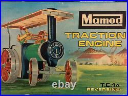 Vintage MAMOD Traction Engine Steam TRACTOR TE1A w box & accessories