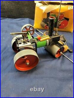 Vintage Mamod SR1A Steam Engine Steam Roller with Original Box