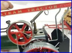 Vintage Mamod Steam Engine Model Tractor & Trailer Untested