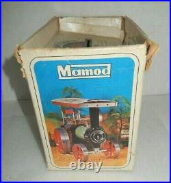 Vintage Mamod Steam Traction Engine Tractor T. E. 1a With Original Box England