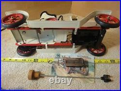 Vintage Mamod pressed steel, 1319 Roadster SA1 steam engine powered model car