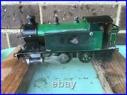 Vintage Märklin Live Steam Locomotive Spirit-Fired O-Gauge Steam Engine. Pre-war