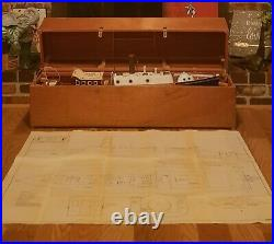 Vintage, Maxwell Hemmens, Display, Rc, Live Steam Engine, Boat