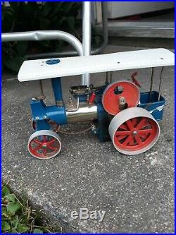 Vintage Old Smoky Steam Engine