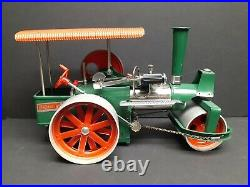 Vintage Old Smoky Wilesco Steam Powered Engine Roller Tractor & Box D365 D 365