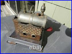 Vintage Original Wilesco Toy Steam Engine And Boiler Made In Germany Untested