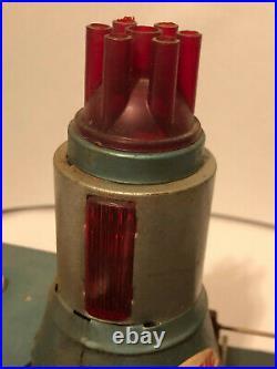 Vintage RARE 1950's Marx Linemar Atomic Reactor Steam Engine Model Tin Toy