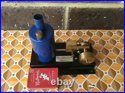 Vintage & Rare Steam Engine David Auld New Zealand SE 3 Horizontal Live Steam