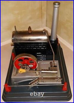 Vintage Steam Engine Model With Original Box NICE