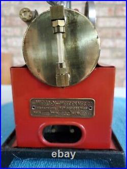Vintage Weeden steam engine model 702 electric toy VGC