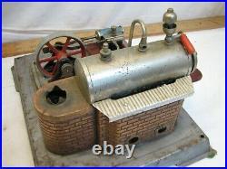 Vintage Wilesco D10 Toy Model Live Steam Engine Pellet Burner Germany
