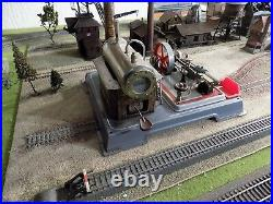 Vintage Wilesco D16 Toy Model Live Steam Engine full working made West Germany