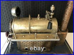 Vintage Wilesco Dampfmaschine Germany D 20 Steam Engine Toy Model