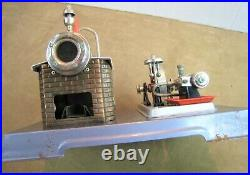 Vintage Wilesco No. D10 Toy Steam Engine Made In Germany