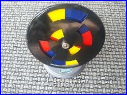 Vintage Wilesco Steam Engine D 16, And Wilesco Color Wheel Accessory For Parts