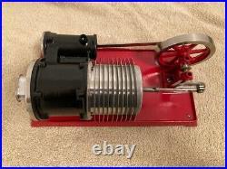 Vintage antique toy steam engine Empire B-38 hot air engine